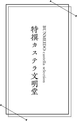 特撰カステラ文明堂