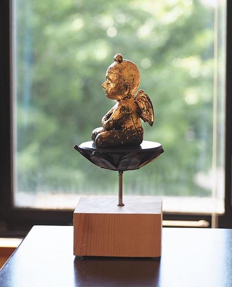 「天使」総高22.5cm 45,000円+税