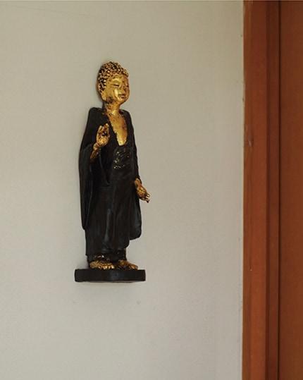 「釈迦如来レリーフ」総高34cm 120,000円+税