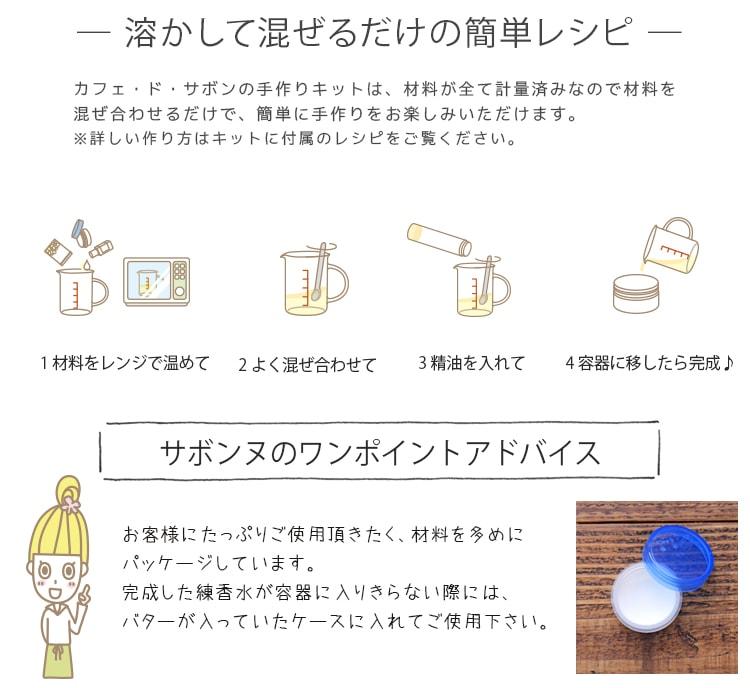 ピンクロータスの練香水手作りキット