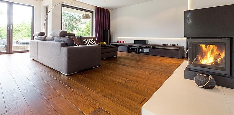 床暖房対応フローリング施工空間イメージ