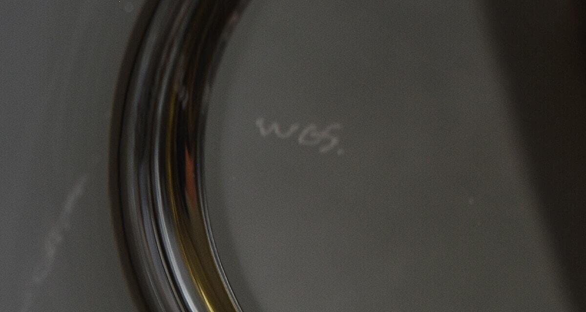 washizuka glass studio dish