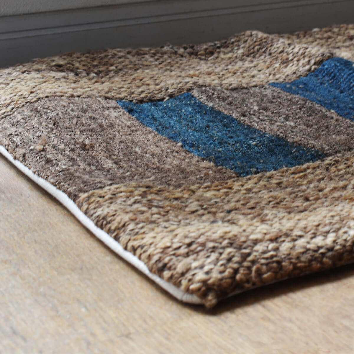 tussah patched mat