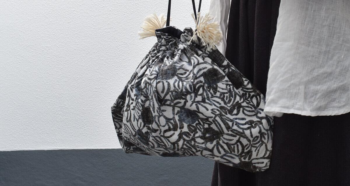ox printed drawing bag