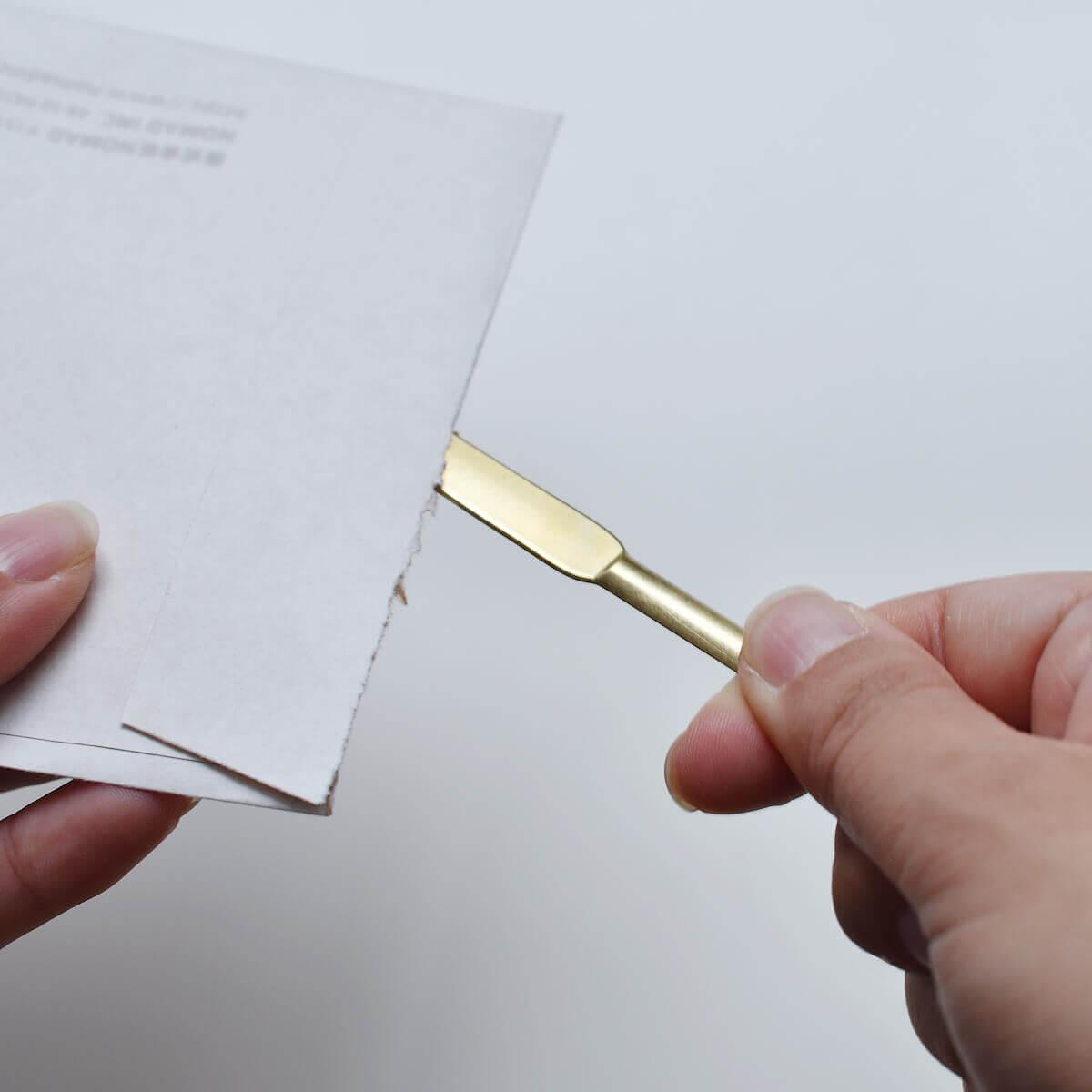 BRASS PAPER KNIFE