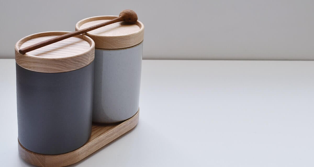hasami porcelain container