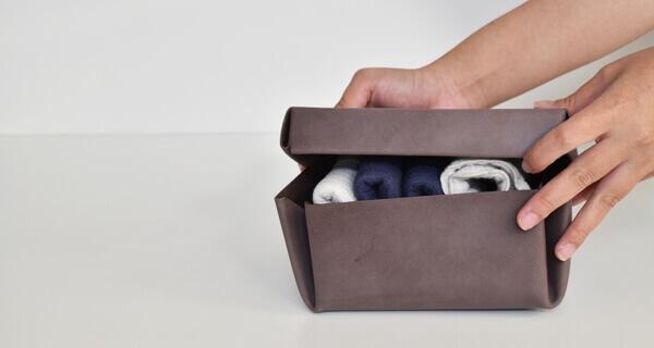 lille og stor kasse
