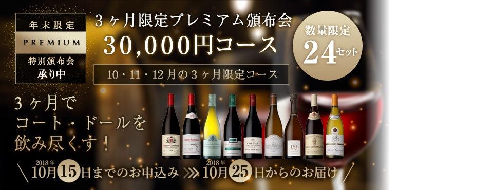 コートドール30,000円コース