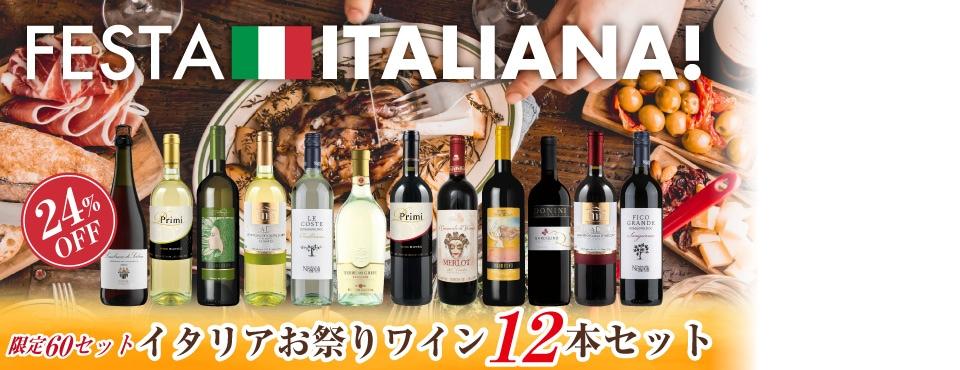 イタリアワイン12本セット