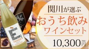 私のおうち飲みワインセット〜関川が選ぶ5本〜