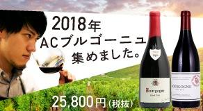 2018年ACブルゴーニュ集めました。