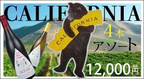 THE カリフォルニア 4本アソート