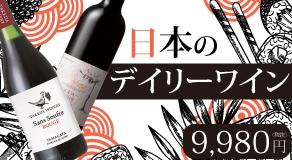 コスパ◎!!日本のデイリーワイン6本セット