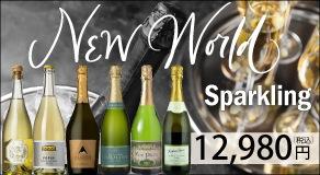 ニューワールドのスパークリングワイン6本セット