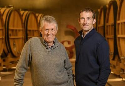 左:父 ジャン・ローラン 右:現当主 フランソワ