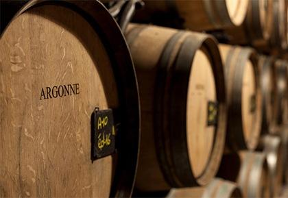 アルゴンヌ産のオーク樽