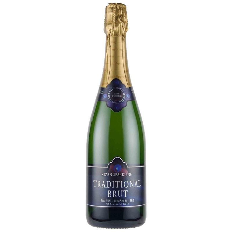 機山洋酒工業 キザン・スパークリング・トラディショナル・ブリュット 2018