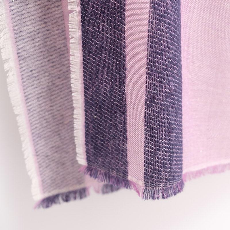イタリア製 秋の大判ストール 春のショール 上品 きれいめ パープルピンク6