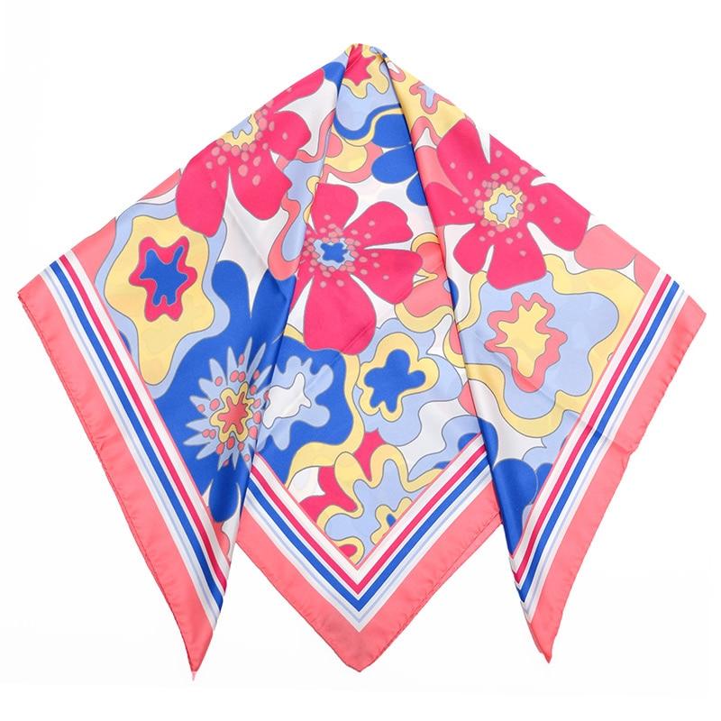イタリア製 春夏スカーフ ピンク・ビオージェノ4