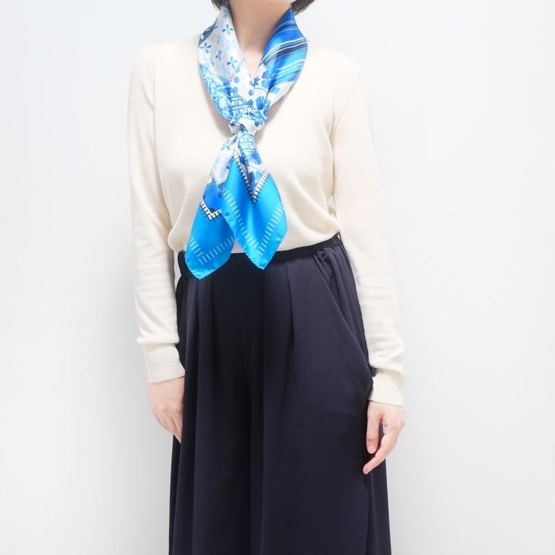 春スカーフ 春ストール ギフトにおすすめ 女性向き3