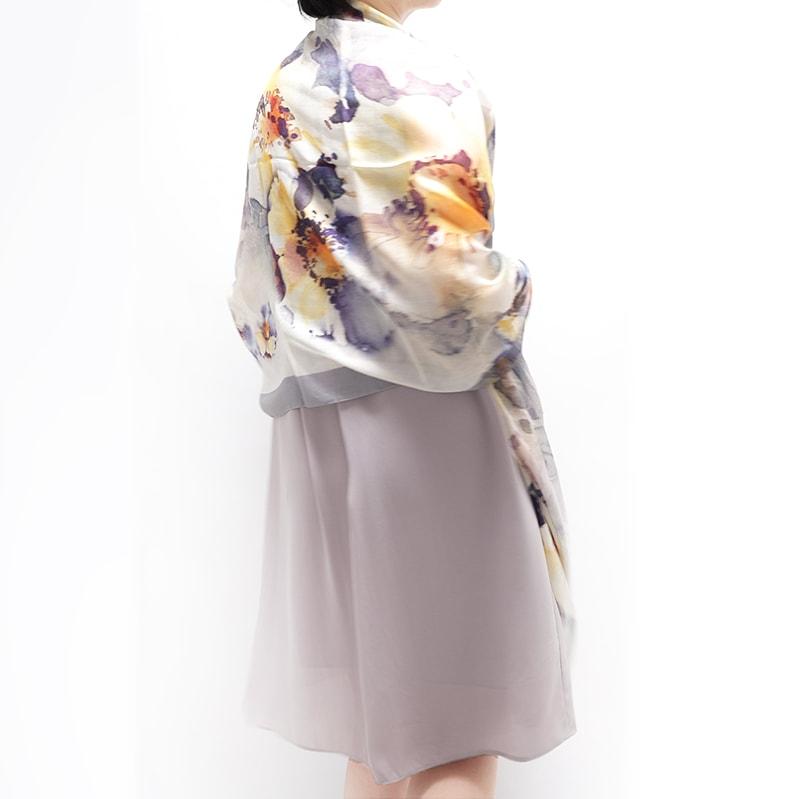 春スカーフ 春ストール ギフトにおすすめ 女性向き5