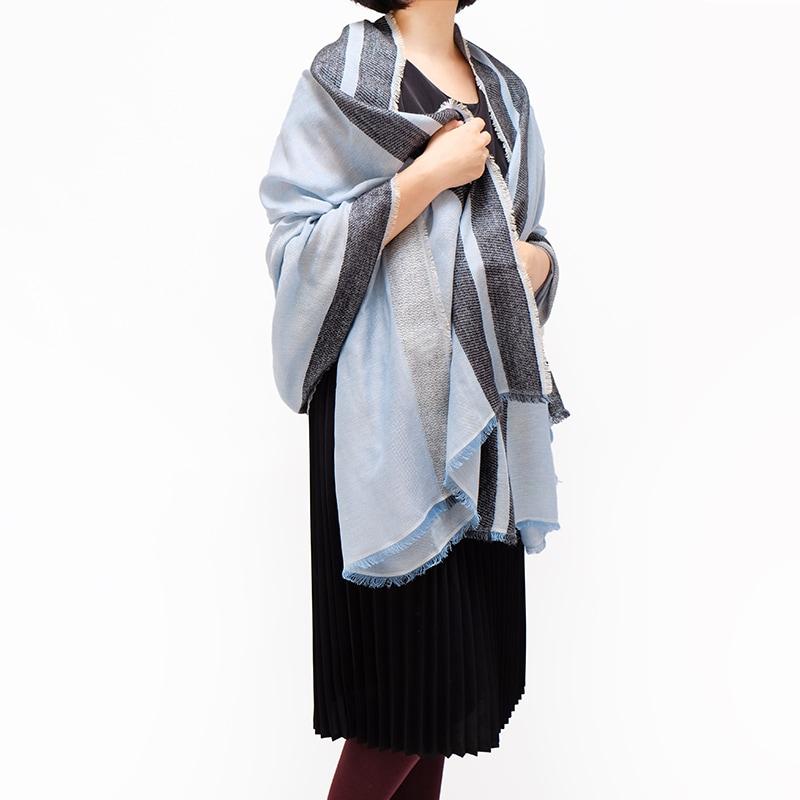 秋ストール ショール 羽織れる大判 ギフトにおすすめ 女性向き2