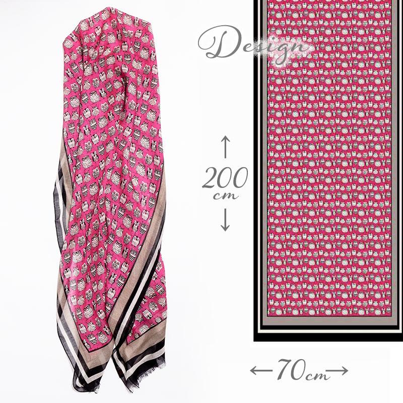 ストール イタリア製レディーススカーフ カシミヤ混 秋冬春物 送料無料