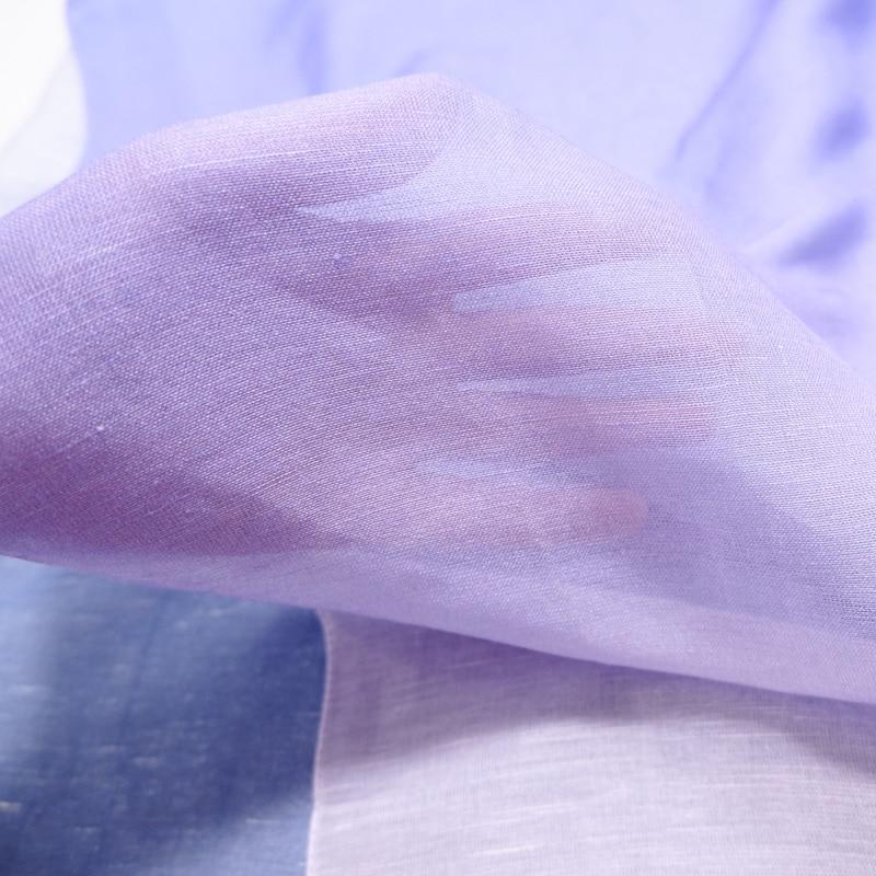 リネン モダール サラサラ 夏 べたつきにくい 手触り 肌 ストールを巻く