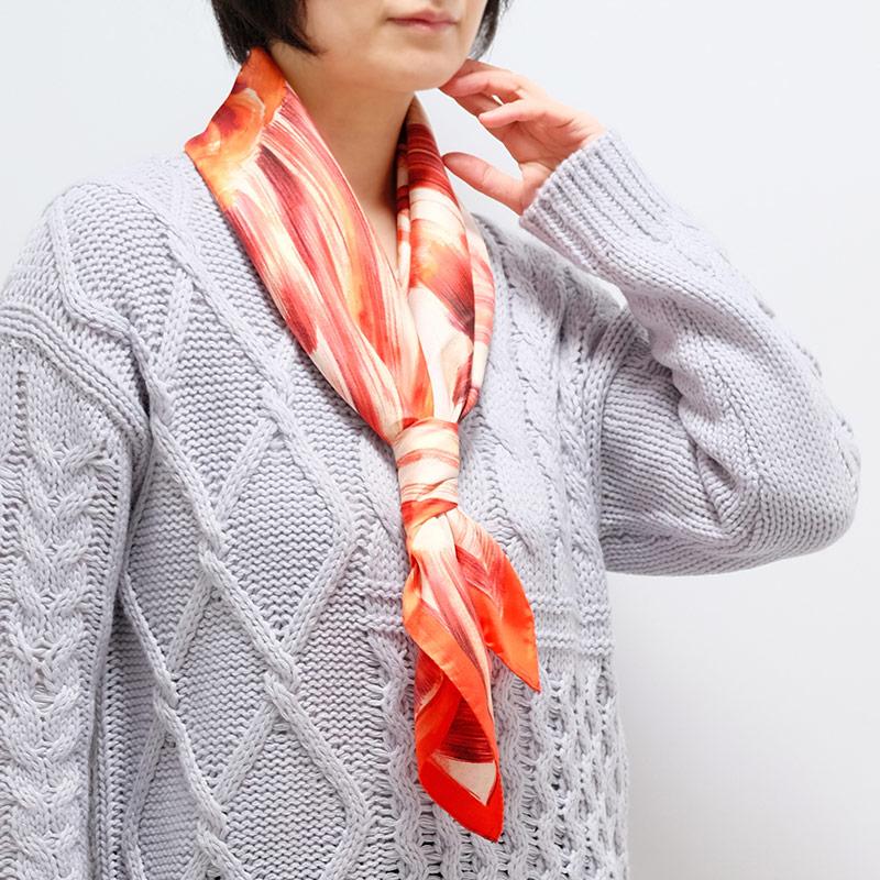 春スカーフ 春ストール ギフトにおすすめ 女性向き1