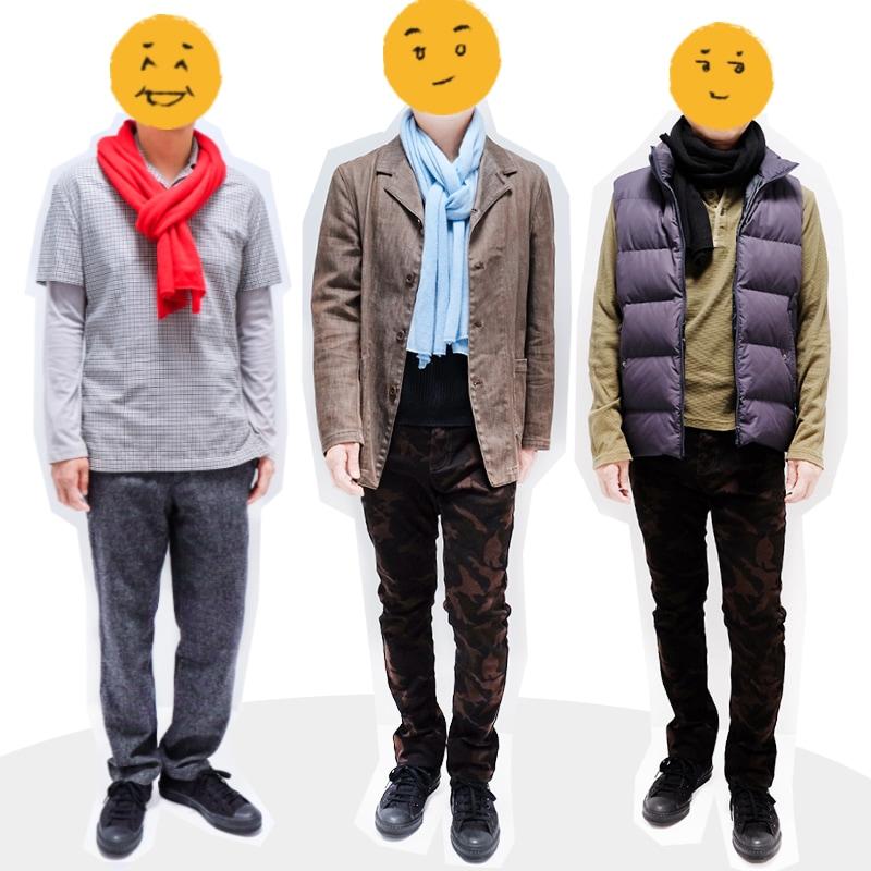 a45fe2a90874 メンズマフラーの巻き方・男性におすすめ秋冬マフラーコーデ【10種】