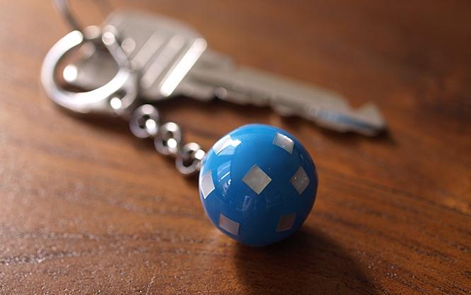 シェルのガムランボール キーホルダー