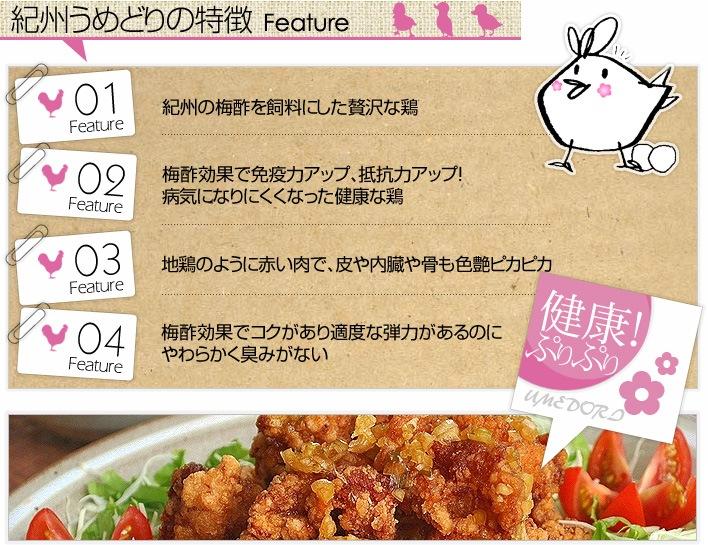 鶏肉の特徴