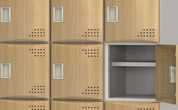 樹脂扉ならではのデザイン性� ぬくもりのある木目柄の扉もラインナップ