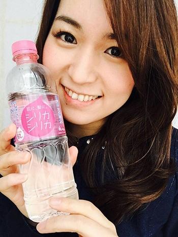 モデルの浜 美藍さん。飲み始めて1か月目の感想を頂きました!!