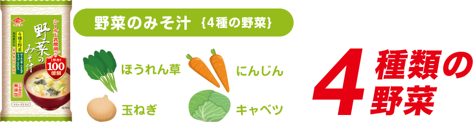野菜のみそ汁