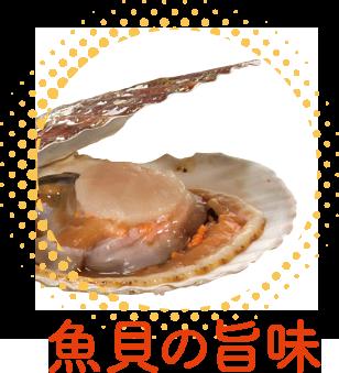 魚貝の旨味