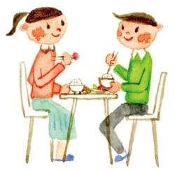 姉弟の食卓