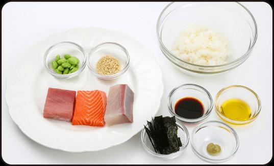 海鮮寿司 材料