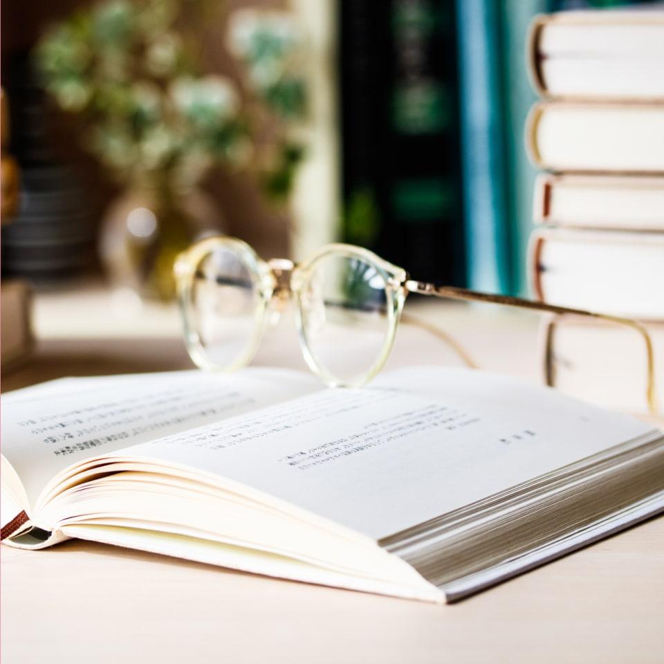 読書をしながら