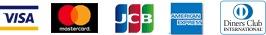 VISA マスターカード JCB アメリカンエクスプレス ダイナースクラブ