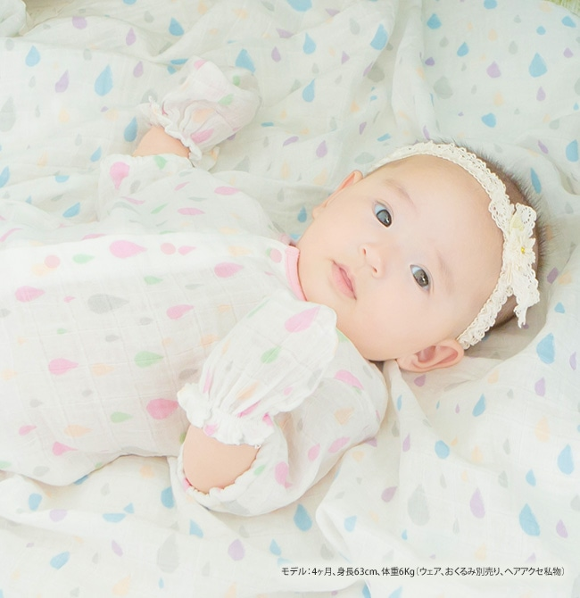 b5aab70f960d9 モスリンガーゼミトン ベビー服  赤ちゃん  服  ベビー  ミトン  手袋 ...