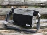 伝統織物双子織を使用したショルダーバッグ[利休]