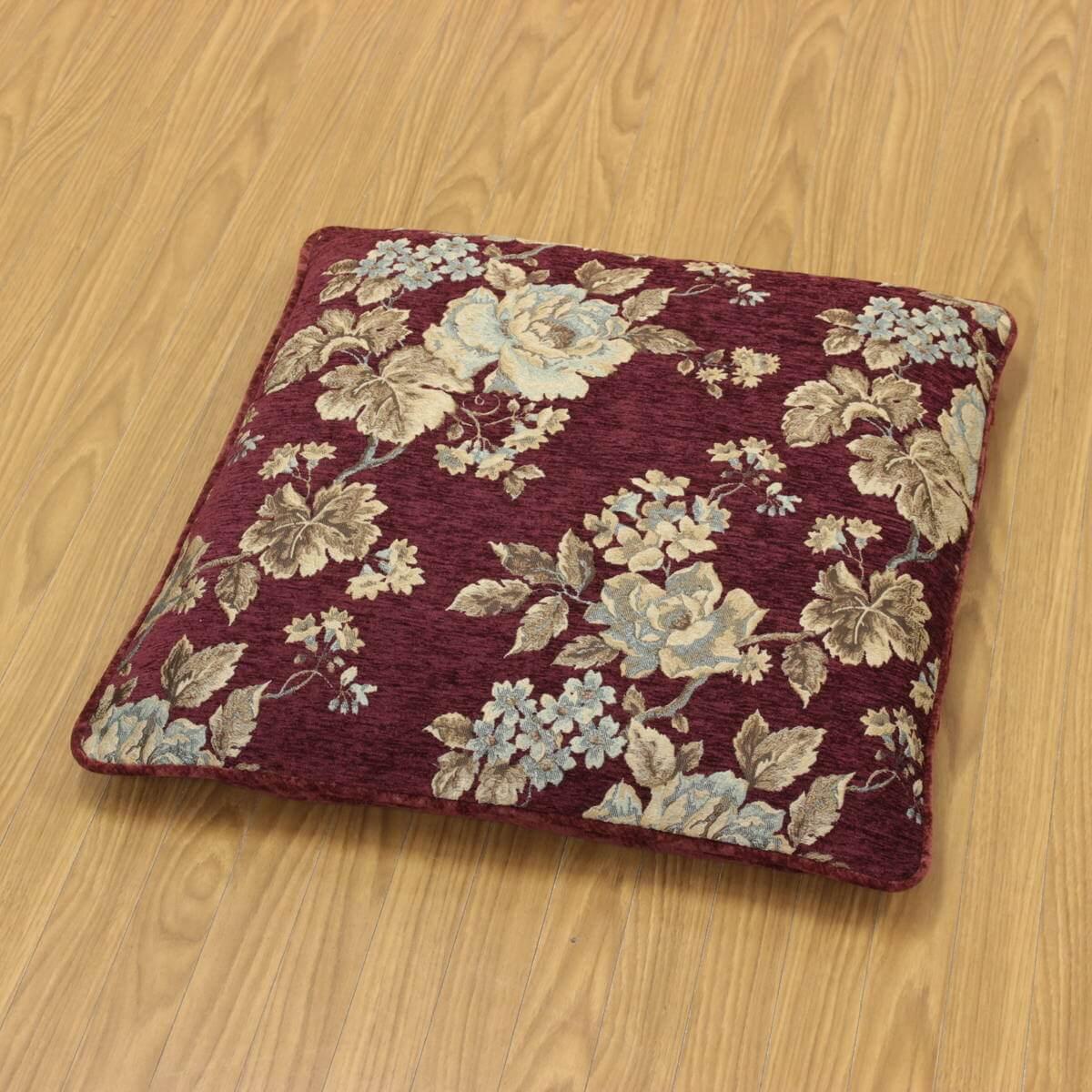 マチルダシリーズの座布団カバーは一般的な銘仙判サイズ用です。