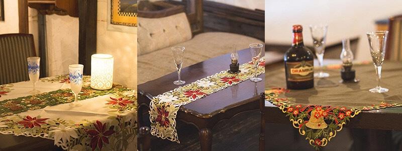 聖なる夜のテーブルコーディネート