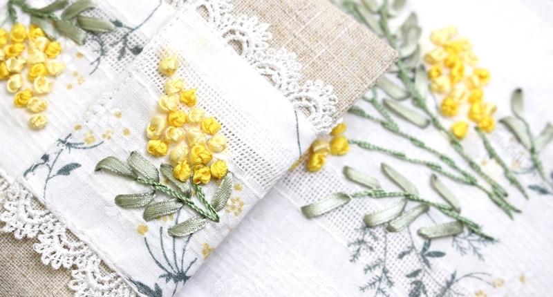 刺繍の小物や雑貨
