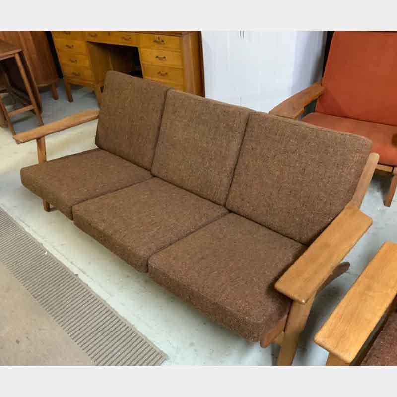 北欧ヴィンテージ家具 GE290 3seaters sofa