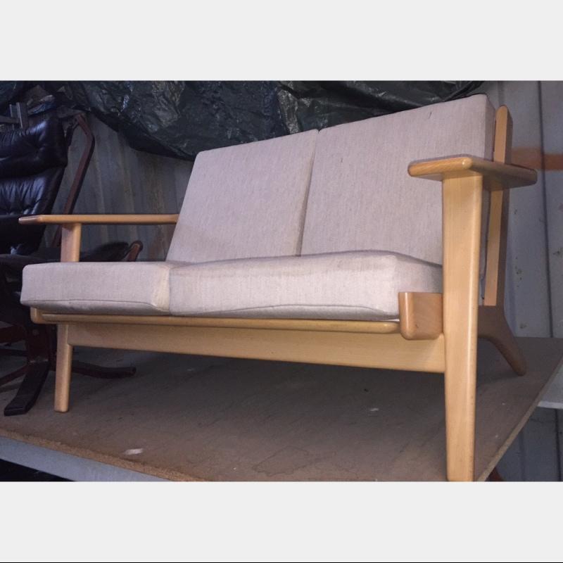 北欧ヴィンテージ家具 GE290 2P sofa