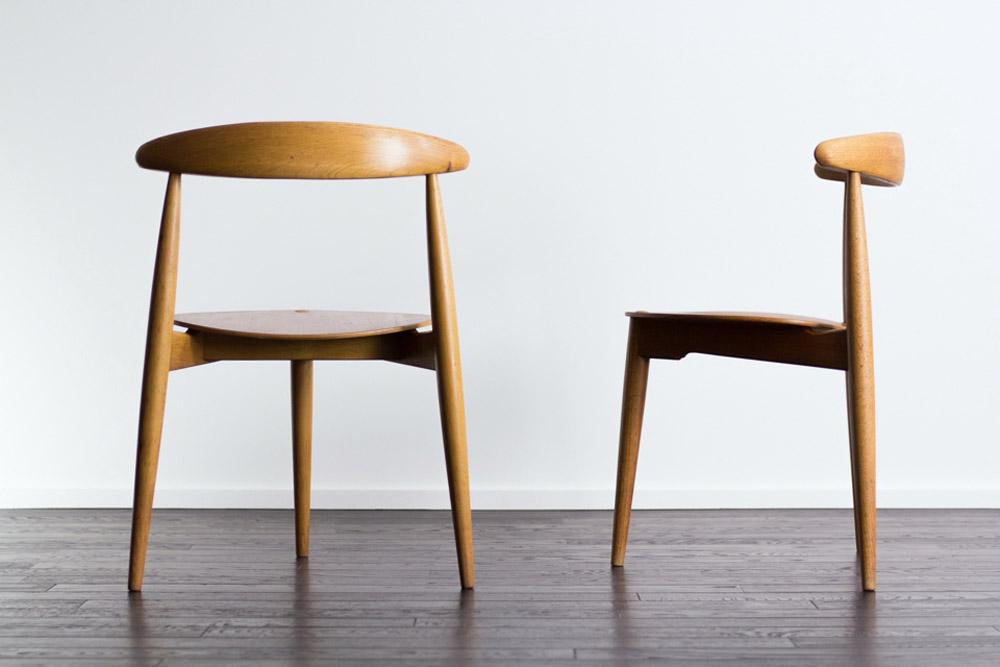 北欧ヴィンテージ家具 椅子の脚