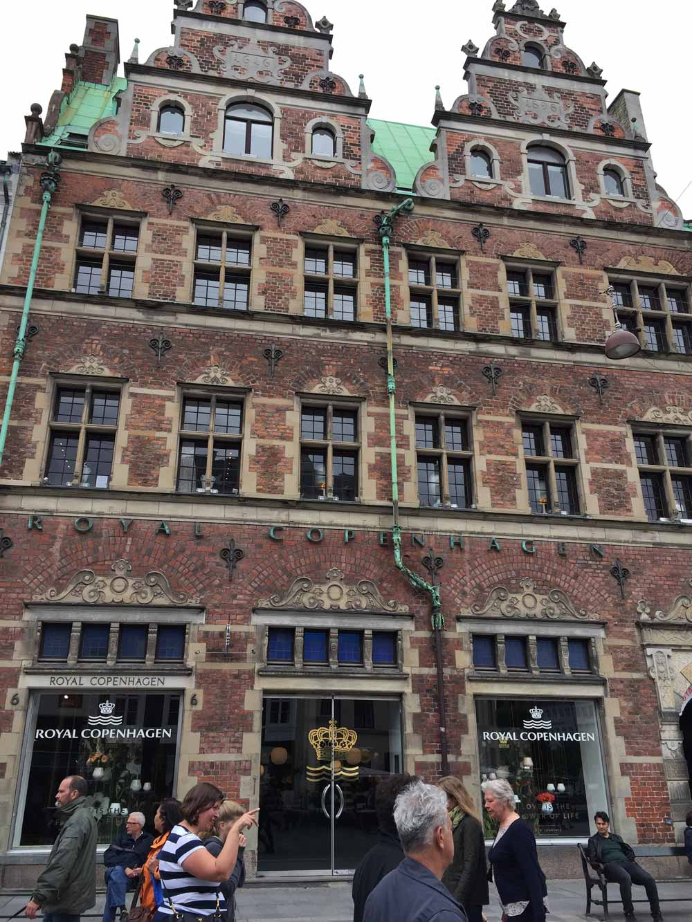 ロイヤルコペンンハーゲン建物