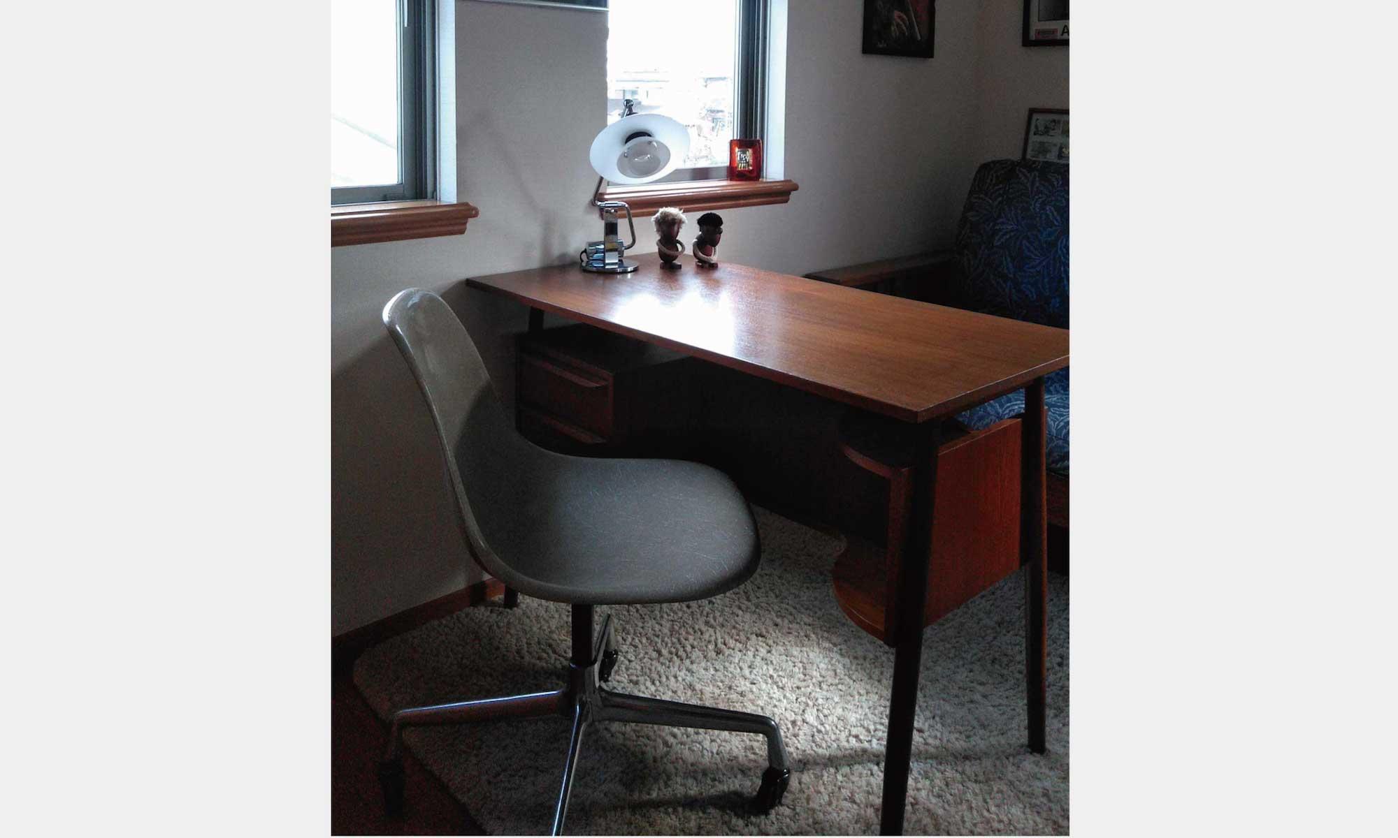デスク 北欧ビンテージ家具